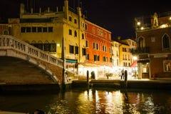 Canal en Venecia Fotos de archivo