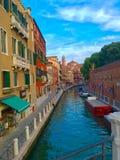 Canal en Venecia Imagen de archivo libre de regalías