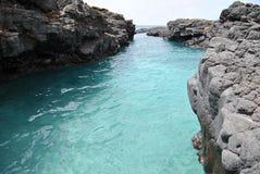 Canal esmeralda imagen de archivo