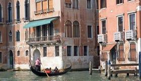 Canal et gondole de Gran Photographie stock libre de droits