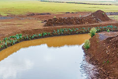 Canal in Ethiopia Royalty Free Stock Photography