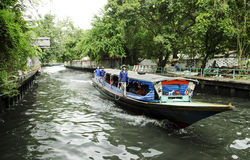 Canal ferry boat bangkok thailand Stock Photography