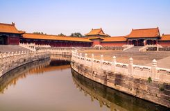 Canal in Forbidden City Stock Photos