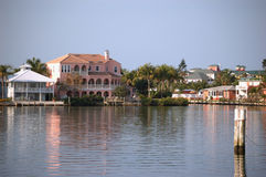 Canal front home fort myers fl Stock Images