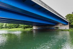 Canal gelsenkirchen Alemanha de herne do Reno Imagens de Stock