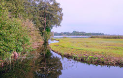 Canal of Giethoorn Royalty Free Stock Photos
