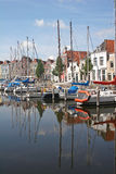 Canal in Goes Royalty Free Stock Image