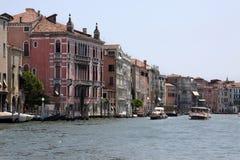Canal grand à Venise, Italie photographie stock