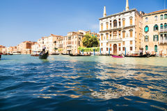 Canal grand photo stock