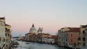 Canal grand de Venezia Image libre de droits