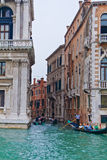 Canal grand de Venise Images libres de droits