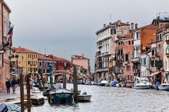 Canal grand de Venise Photographie stock