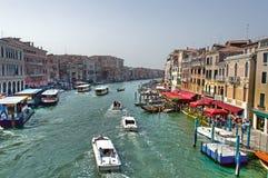 Canal grand de Venise Photographie stock libre de droits