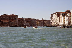 Canal grand de Venise Photographie stock libre de droits