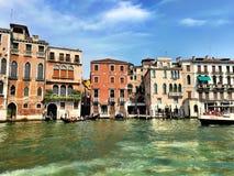 Canal grand de Venise Photos stock