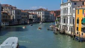 Canal grand de Venise banque de vidéos