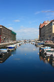 Canal grand, Trieste, Italie Photo stock