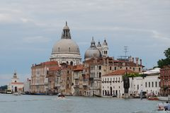 Canal grand. Venise Photos stock