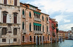 Canal grand, Venise Image stock