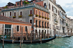 Canal grand, Venise Images stock