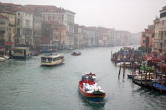 Canal grand Venise Photo stock