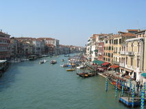 Canal grand, Venise, Italie Photo stock