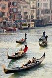 Canal grand Venise, Italie Images libres de droits