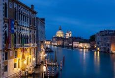 Canal grand Venise Italie Photo stock