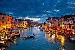 Canal grande Foto de Stock Royalty Free