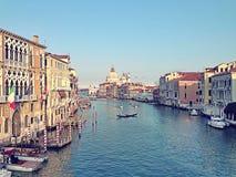Canal grande Fotografia Stock