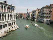 Canal grande Immagine Stock