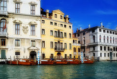 Venice. Canal Grande (big canal) in Venice, Italy Stock Photography