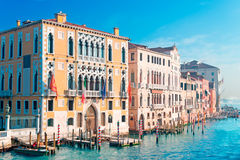 Canal Grande on a clear day Stock Photo