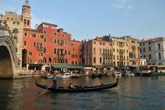 Canal grande de Veneza Fotografia de Stock
