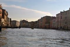 Canal grande de Veneza Fotos de Stock Royalty Free