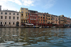 Canal grande de Veneza Imagens de Stock