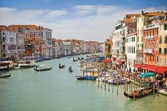 Canal grande em Veneza Fotos de Stock