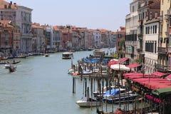 Canal grande em Veneza Imagens de Stock Royalty Free