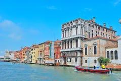 Canal grande em Veneza, italy Fotos de Stock Royalty Free