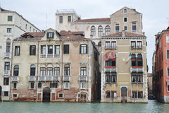 Canal grande en Venecia Imagen de archivo libre de regalías