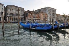 Canal Grande, Gondolas Royalty Free Stock Photo
