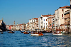 Canal Grande - Grand Canal, Venice Stock Photo
