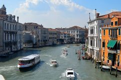 Canal Grande Royalty Free Stock Images