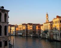 Canal grande em Veneza Imagens de Stock