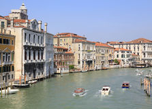 Canal Grande in a summer day in Venice Royalty Free Stock Images