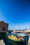 Canal Grande of Trieste Stock Images