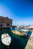 Canal Grande of Trieste Stock Photography