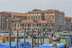 Canal grande, Venecia, Italia imagenes de archivo