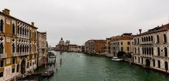 Canal Grande Venedig stockfotos