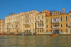 Canal Grande in Venedig (Italien) stockbilder